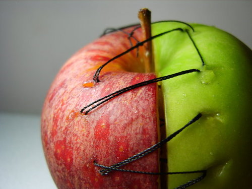 I wish apples came like this. sweet and tart :D