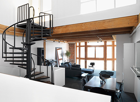 cabbagerose:  crosstown loft via: coolboom