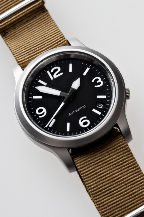 makingsomething:  everydaycarry:  Seiko Military Custom via Malenkov in Exile  Been wanting one of these Yobokies x Seiko customs for awhile now.