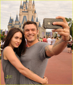 m-fox:  Megan and Brian at Disney World