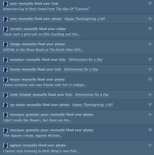 Tumblr spam is now a thing.