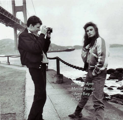 Jon Cryer and Demi Moore in No Small Affair.