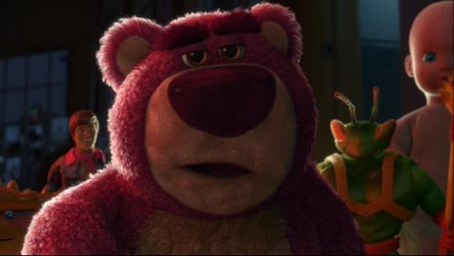 Lee Unkrich wanted Lotso to be a toy from the 1980s Care Bears toy line. This idea was not dropped until after the storyboard was completed.