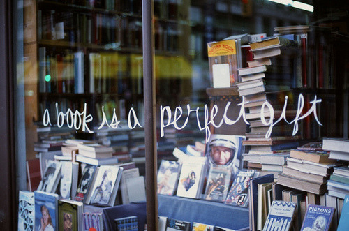 We agree! Especially one with a handmade bookmark and an inscription.