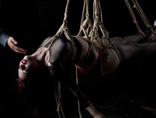 E.Lady 666 during her first suspension……