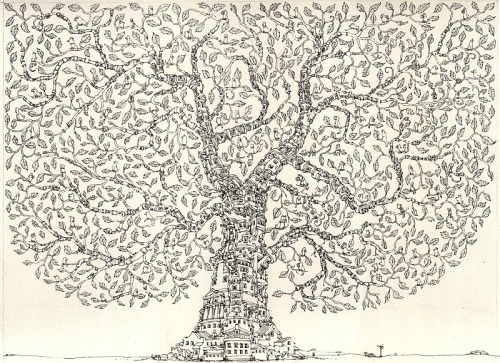 House Tree - Mattias Adolfsson