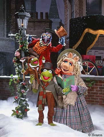 The Muppet Christmas Carol is by far my favorite holiday movie.
