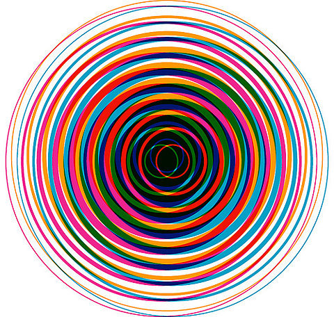 ffound:  WOWGREAT - Gary Clarke, Fibonacci Splash 02 (via Graphic…