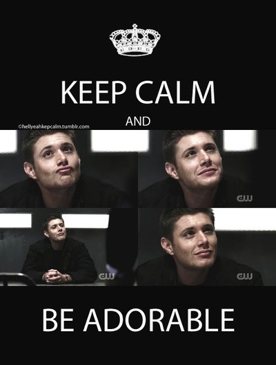 Keep calm and be adorable