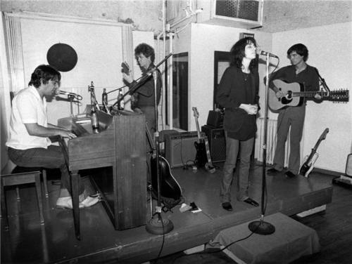 John Cale, Lou Reed, Patti Smith & David Byrne, NYC, 1976