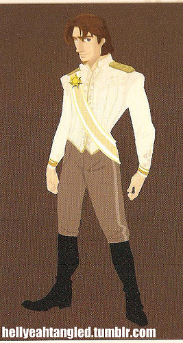 "hellyeahtangled:  Concept Art Of Eugene's(Flynn) Wedding Outfit. From ""Art Of Tangled"" book.  I know I haven't been posting on here, since I been busy running hellyeahtangled, but I going to try to give this tumblr a bit more attention."