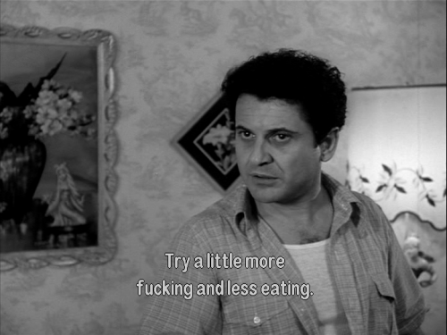 attncutegirls:  This is my new diet plan. Thanks, Joe Pesci.