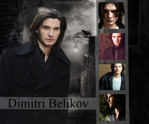 iridescenttoxik:  Dimitri Belikov from Richelle Mead's 'Vampire Academy' as depicted by Ben Barnes. (I'm still not too sure about Ben Barnes, but he was the actor I'm most familiar with.)