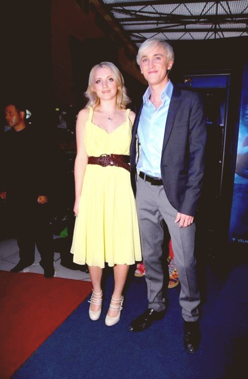 fyevannalynch:  Evanna Lynch & Tom Felton