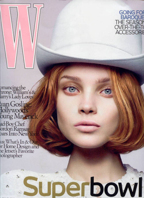 Natalia Vodianova for Vogue Italia