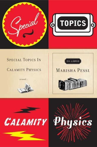 coverspy:  Special Topics in Calamity Physics, Marisha Pessl (M, 20s, Yale baseball cap, walking north w girl, Broadway at Houston) http://bit.ly/g6cfxP