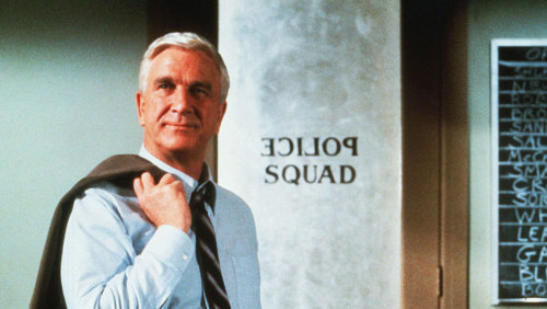 "Today, we remember Leslie Nielsen. Here he is, in a 1993 interview on Fresh Air, talking about the film that catapulted him into comedy: ""When I read the [Airplane!] script I knew exactly what they  were after. It was the greatest break of my life, in a sense,  that I ended up working with people who spotted me for being the closet  comedian that I was."""