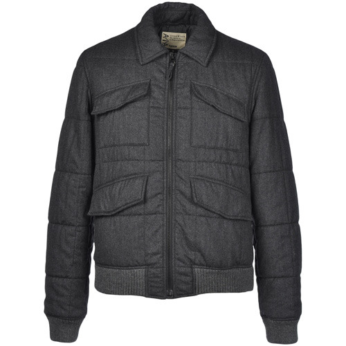 Aspesi Wool Quilted Jacket