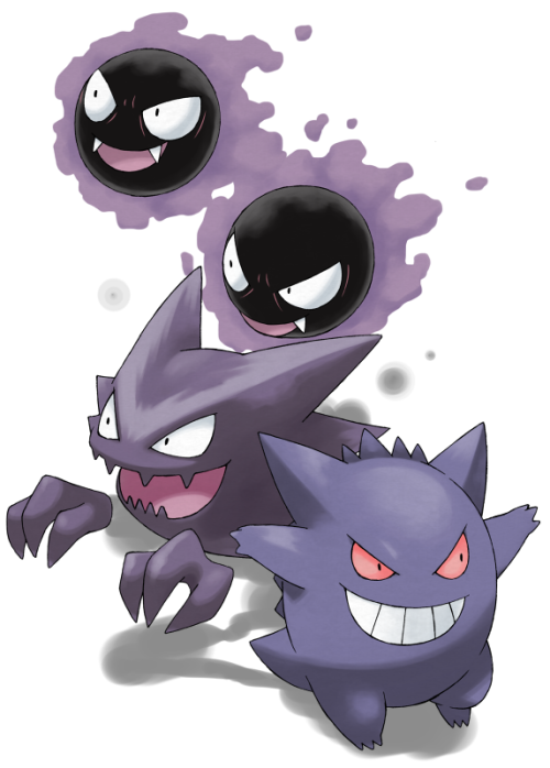 Gengar followed by Alakazam were always my favorite pokemon ever.  I even had a jap holographic gengar card, I think I know what I'm drawing today :>