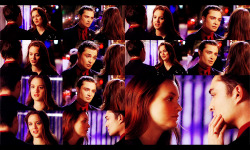 meesters:  Blair: I followed my heart all last year and it led me nowhere. Now I need to follow my head.Chuck: You don't need to choose between them. Look at Brand and Angelina. They take turns on top.Blair: Yeah, but she won an oscar first. I'm sorry, but I have to be Blair Waldorf before I can be Chuck Bass' girlfriend. Chuck: I love you.Blair: I love you, too. I don't expect you to wait.Chuck: If two people are meant to be together, eventually they'll find their way back. Blair: Do you really believe that?Chuck: I do.Blair: So do I.