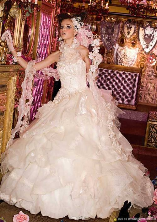 Sugar Kei Sweet Princess Wedding Dresses | Wedding Inspirasi Bridal Inspiration Blog