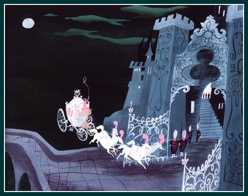 mary blair. concept art. cinderella. disney. 1950