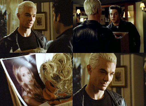 "Buffy - 5x15 - ""I Was Made to Love You"" The next two episodes are too upsetting for me to watch.  I'm skipping ahead to the Buffybot. :D"