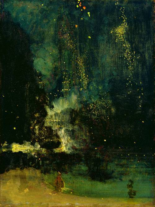 Nocturne in Black And Gold by James Whistler