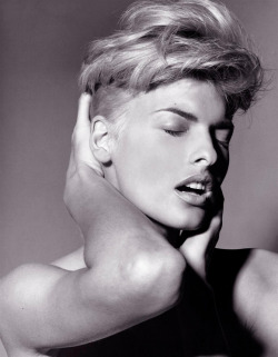 Linda Evangelista by Steven Meisel for Vogue Italia, 1991
