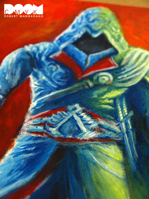 My Assassin's Creed Ezio Painting made with Acrylic Paint and Oil Pastel  on canvas board. Available at my Etsy shop:  http://www.etsy.com/shop/DoomCMYK 15% OFF use the Coupon Code:  1CMYKHOLIDAY at checkout.