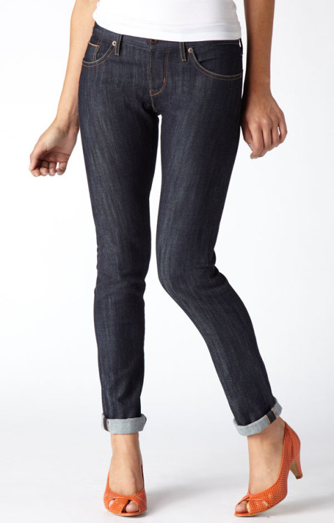 Levi's selvedge skinnies for ladies…intimidating stuff