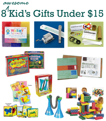 8 Awesome and Creative (and affordable) Kid's Gifts!