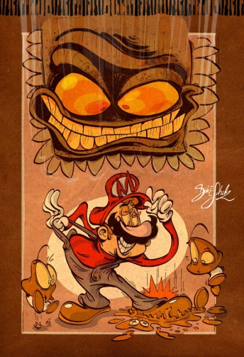 If Super Mario Bros. Was a Nickelodeon Cartoon mario bros cartoon1 –