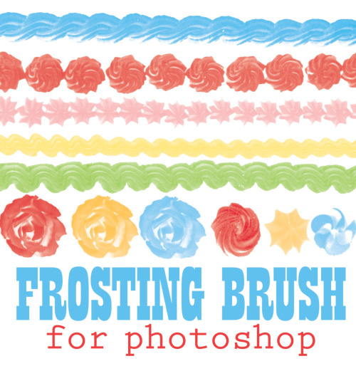 Frosting Brush from Sugar & Meringue