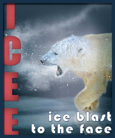 Following my brother's kick-ass new ICEE sign (if I say so myself), this is the new one I just finished up for my dad's theater. Good, fun stuff, and looked super-cool printed out & laminated. Happy I'll get to see it in-person on the machine in just a few weeks.
