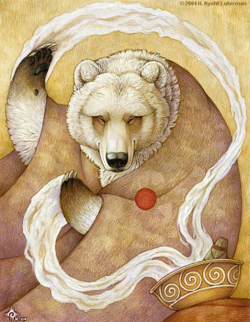 zasu:  Healing Bear by ~kyoht