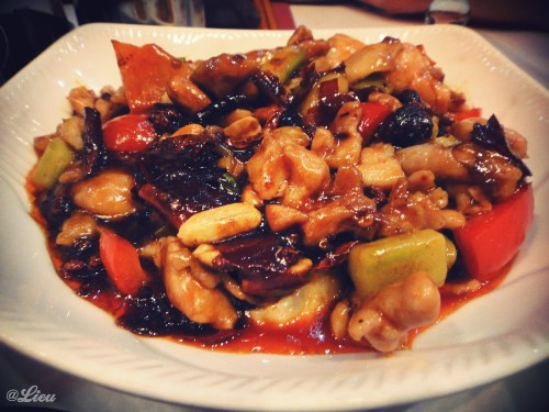 Sweet & Spicy Chicken - Les Pâtes Vivantes, 22 Blvd St Germain Paris 5e