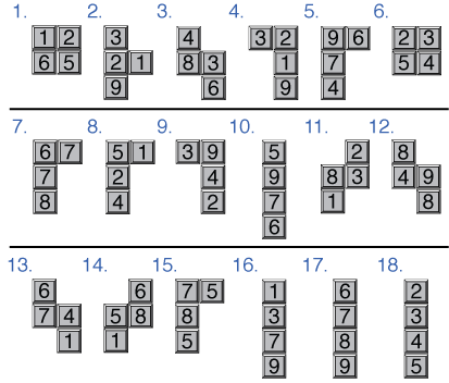 Tetris Sudoku (via WIRED Magazine)