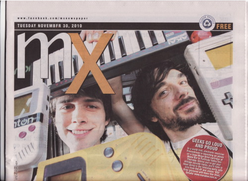 Pocket Music on the Front Page of free Newspaper MX! Check out some more press here. Also Tune into ZedGames on 4zzzfm Tonight between 7-8pm AEST to hear an interview with Freezedream.
