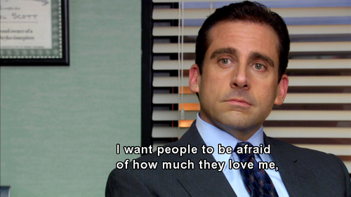 Michael Scott is the coolest dude ever.
