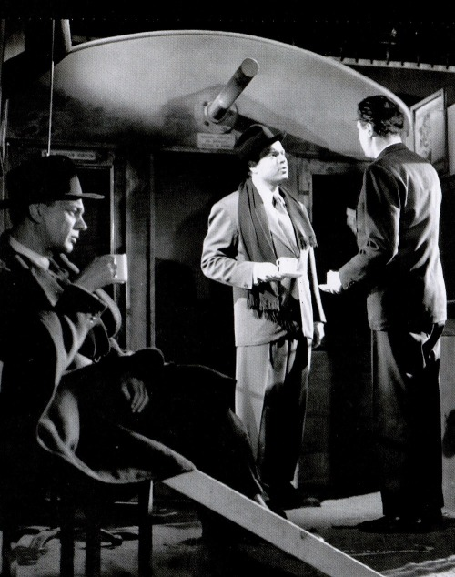 "Orson Welles, director Carol Reed (right), and Joseph Cotten (seated, left) have tea on the set of The Third Man before recording the cuckoo clock speech (1949, via) Q. What was Welles like to work with?   Carol Reed: Wonderful! Marvelous!   Q. He didn't try to direct himself?   Reed: He  was difficult only about the starting date, telling me how busy he was  with this & that. So I said, ""Look, we're going on location five  weeks. Any week - give us two days notice, we'll be ready for you. And  give me one week out of seven in the studio."" He kept to it. He came  straight off the train in Vienna one morning, and we did his first shot  by nine o'clock. ""Jeez,"" he said, ""this is the way to make  pictures!"" He walked across the Prater, said two lines to [co-star Joseph] Cotten, and  then I said, ""Go back to the hotel, have breakfast; we're going into the  sewers, and we'll send for you."" ""Great! Wonderful!""  He comes down into  the sewers and says, ""Carol, I can't play this part!"" ""What's the  matter?"" ""I can't do it. I can't work in a sewer. I come from  California! My throat! I'm so cold!"" I said, ""Look. Orson, in the time  it's taking us to talk about this, you can do the shot. All you do is  stand there, look off and see some police after you, turn, and run  away."" ""Carol,"" he said, ""Look, get someone else to play this. I cannot  work under such conditions. ""Orson, Orson, we're lit for you. Just stand  there."" ""All right, but do it quick!"" Then he  looks off, turns away, and runs off into the sewers. Then all of a  sudden I hear a voice shouting. ""Don't cut the cameras! Don't cut the  cameras! I'm coming back!""  He runs back, through the whole river, stands  underneath a cascade over his head - this out of camera range, mind  you! - and does all sorts of things, so that he came away absolutely  dripping. ""How was that?"" he asks. ""Wonderful Marvelous!"" I said. ""Okay.  I'll be back at the hotel. Call me when you need me.""  With Orson you  know, everything has to be a drama. But there were no arguments of any  sort at all.   -1972, excerpted from Charles Thomas Samuel's  Encountering Directors"