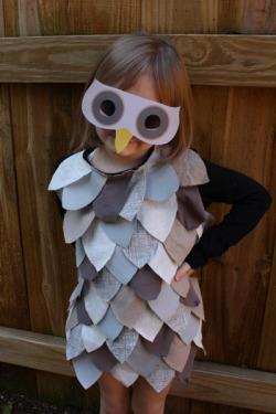 Last-Minute Kids' Owl Costume | Alphamom - so I don't forget about this.