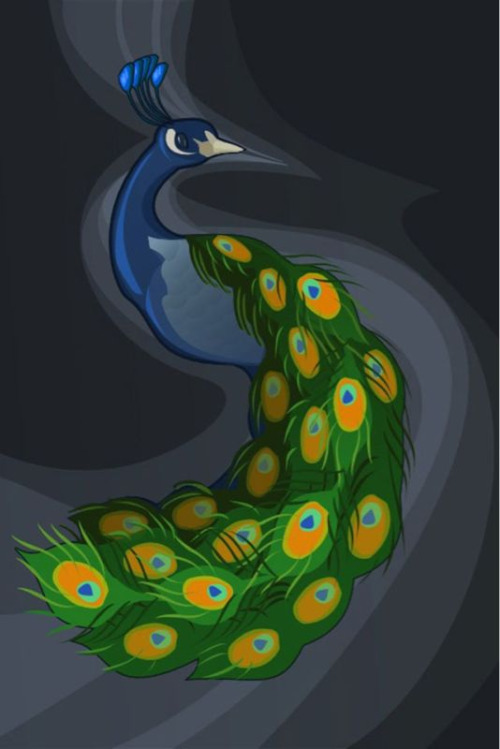 THIS. This peacock picture, which is from this site originally has been a wallpaper on my computer for about two years off and on. I have been full-on obsessed with this very image. People hear me talking all the time about how I want a beautiful peacock tattoo, and this is the exact image that I want. It kinda made me giddy to see it on fypeacockfeathers. But now I'm thinking shit…I hope nobody else uses it as a tattoo!