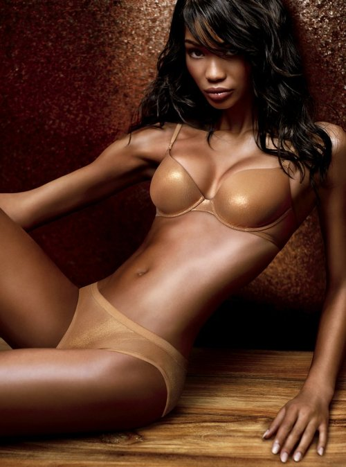 Chanel Iman for Victoria's Secret