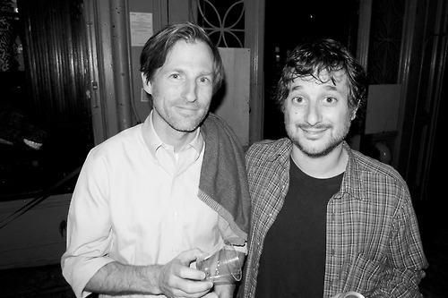 fuckyeahspikejonze:  Spike and Harmony Korine, by Terry Richardson.