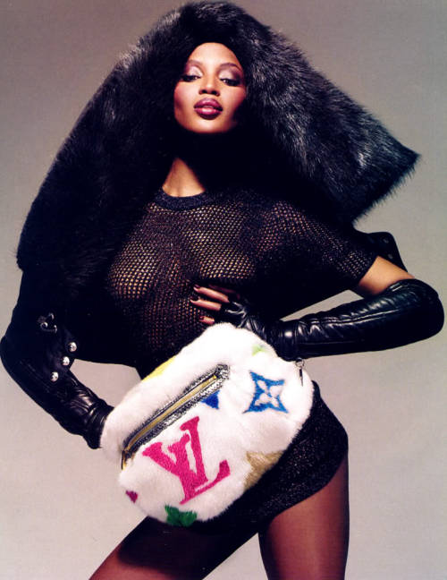 Furry NayNay thestyleregistry:  Louis Vuitton | Fall 2006Naomi Campbell by Mert Alas & Marcus Piggott