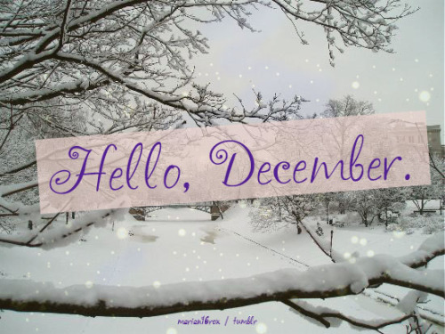 Goodbye November Hello December Tumblr Hello December Goodbye