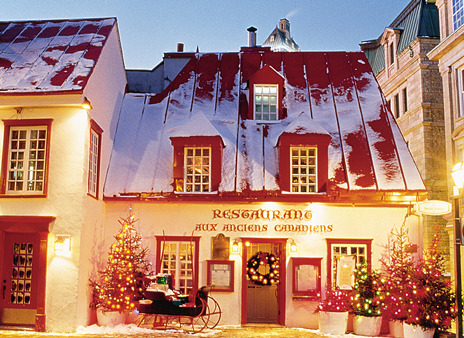 sunsurfer:  Christmas, Quebec City, Canada  photo from quebectravel