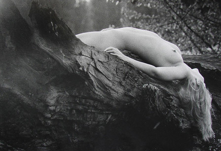 Nude in Landscape,1970-74 by Jindřich Richter via Greisen