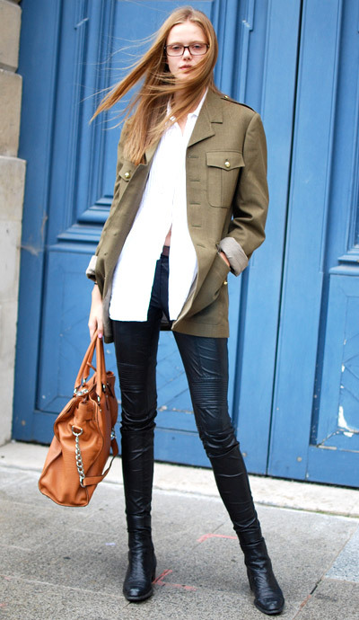 -Street Chic: Paris Photo: Courtney D'Alesio
